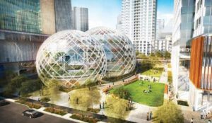 26. In 2013, Amazon proposed radical designs for a new headquarters in downtown Seattle