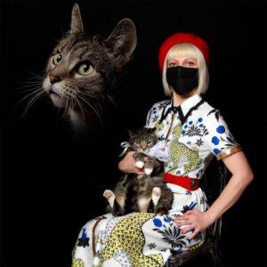 حیوانات خانگی و صاحبانشان: پرتره هایی به سبک دهه 80
