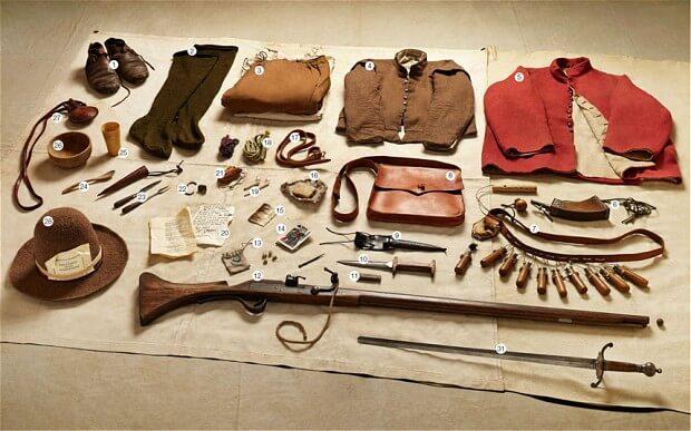Military Kit - 1645 - Battle of Naseby