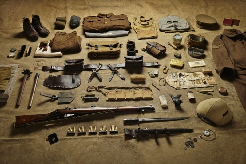 Military Kit - 1916 - Battle of the somme.