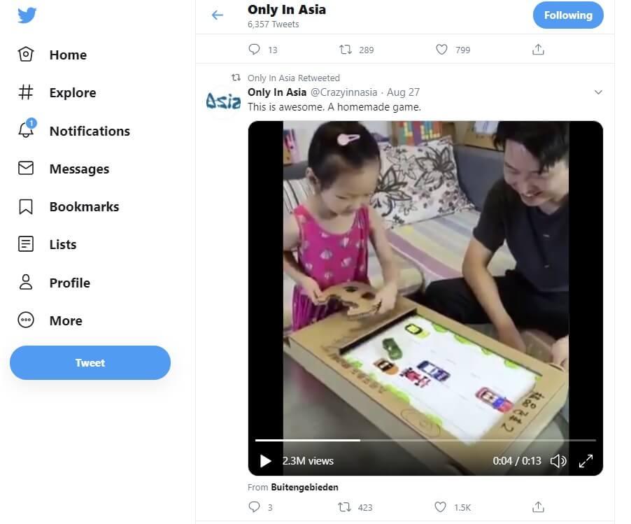 فقط در آسیا + یک بازی خونگی دست ساز
