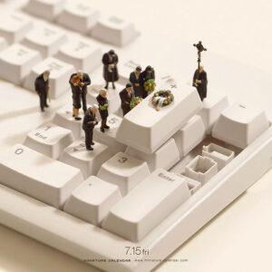 miniature calendar 16.07.15