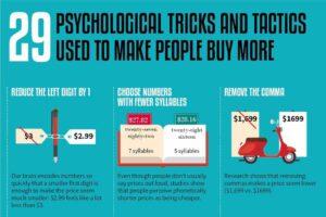 29 ترفند روانشناختی برای فروش بیشتر