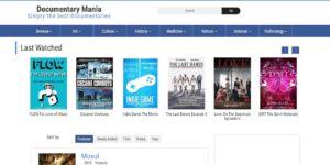 سایت Documentary Mania مرجع فیلمهای مستند رایگان