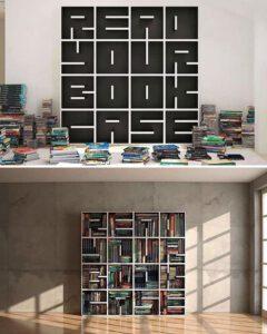 کتابخانه ساده و مدرن