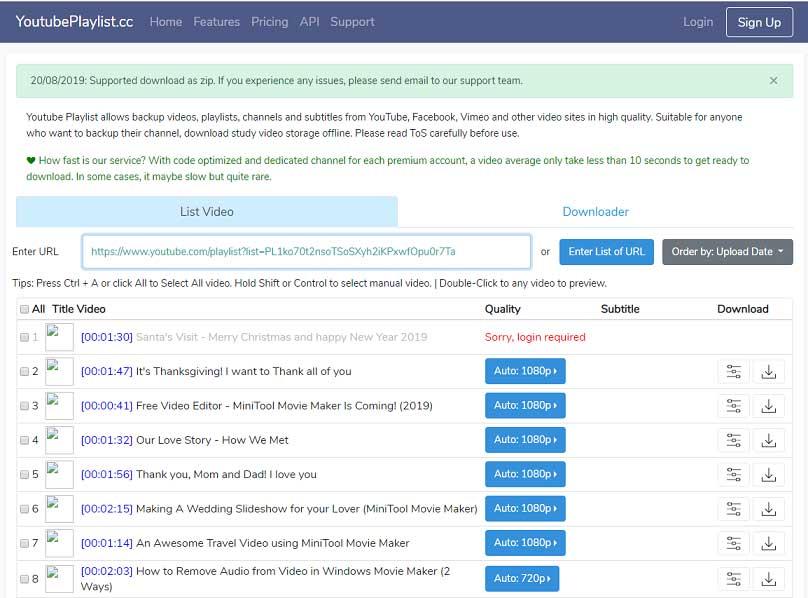 سادهترین روشهای دانلود لیست پخش یوتیوب، بدون استفاده از فیلتر شکن