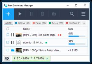 فری دانلود منیجر (Free Download Manager)