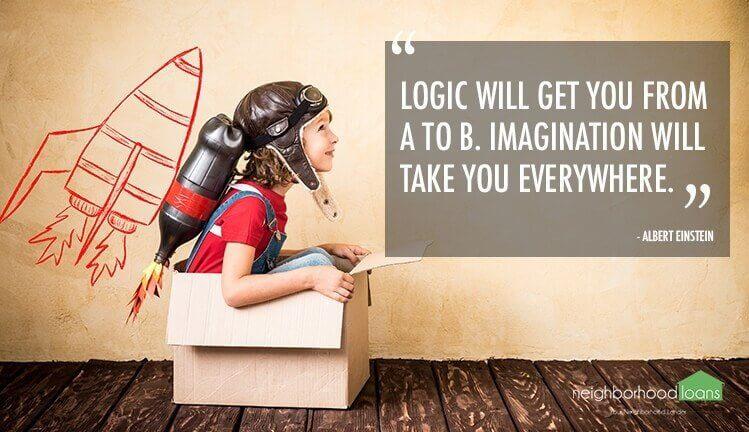 منطق شما را از نقطه الف به نقظه ب میبره، تخیل شما رو به همه جا میبره. آلبرت اینشتین