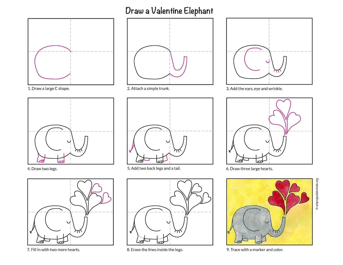 Valentine-Elephant
