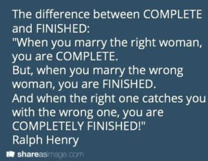 اگه گفتید تفاوت بین Complete و Finished چیه؟