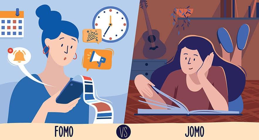 لذت از دست دادن: JOMO به جای FOMO