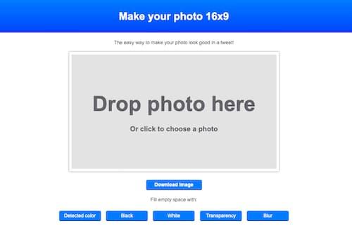 عکس خود را 16x9 کنید