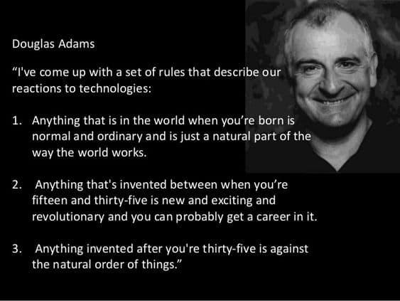Technology - Douglas Adams