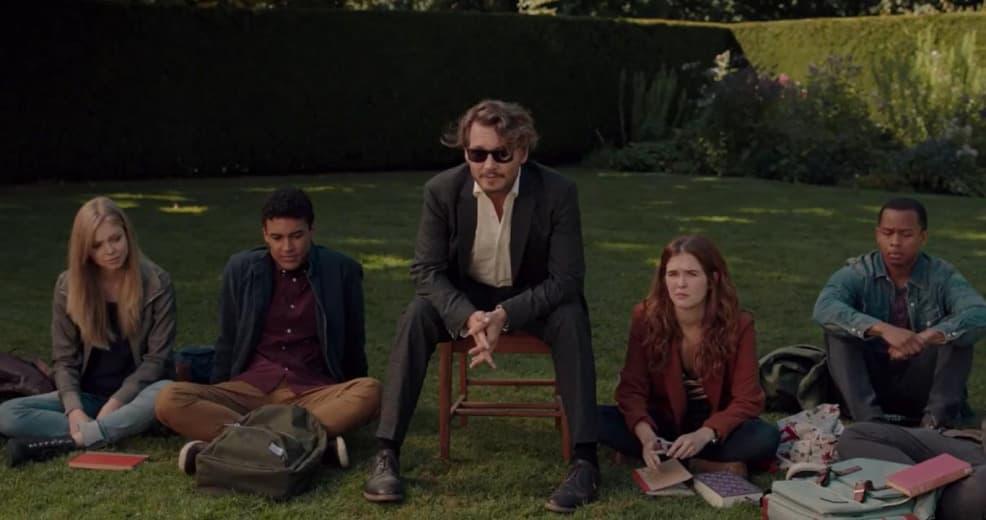 2018 - The Professor - Johnny Depp