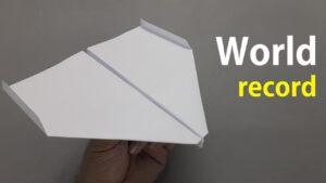 روش ساخت یکی از بادوامترین و دورپروازترین موشکهای کاغذی